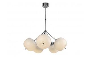 Lampa wisząca Jabłko MC5069-5 srebrna