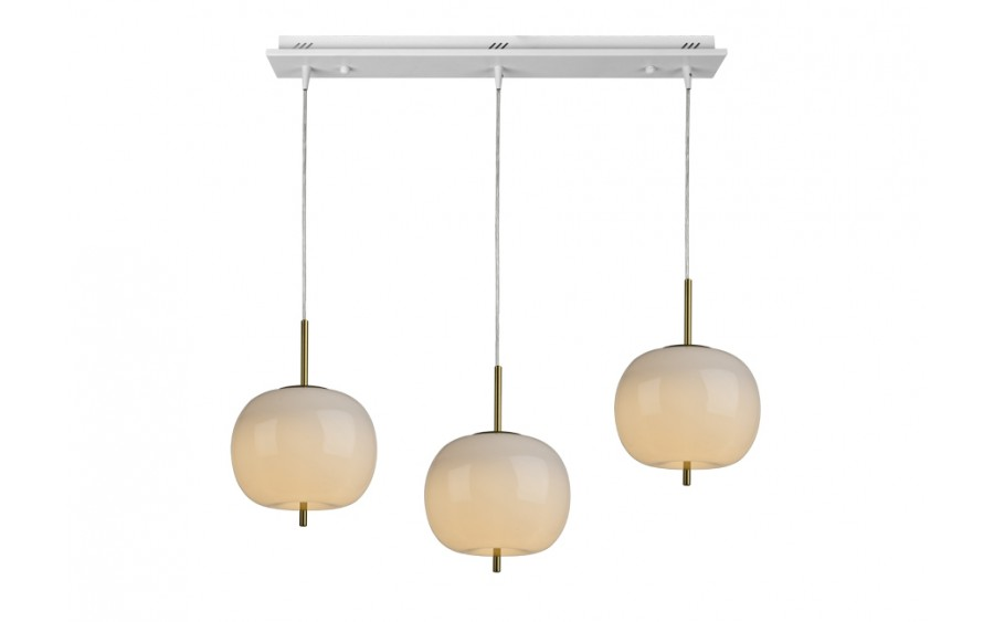 Lampa wisząca Jabłko MD5069B-3GL