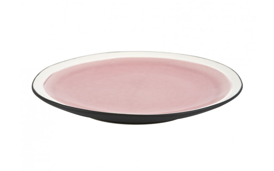 Talerz płytki 21cm Origin pink