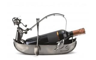 Stojak na wino Łódka