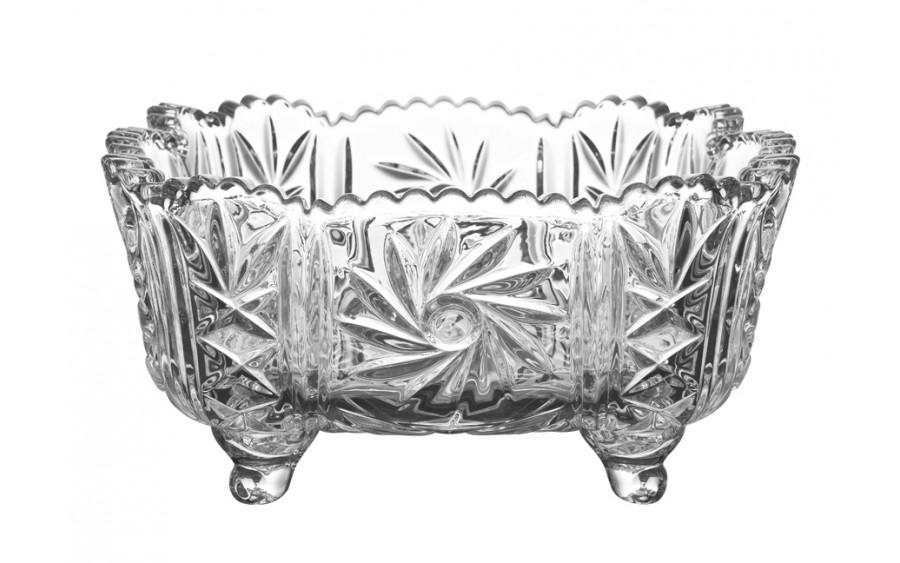 Salaterka kryształowa 25cm Pinwheel Bohemia