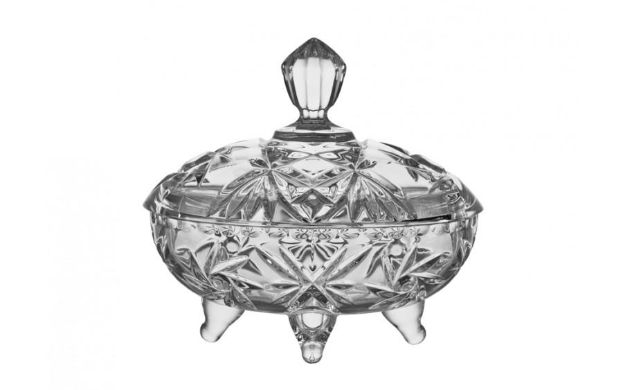 Bombonierka kryształowa Pinwheel Bohemia