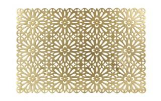 Podkładka na stół 45x30cm złota