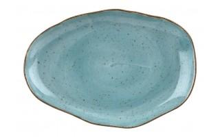 Talerz deserowy 21cm Stone Age Blue