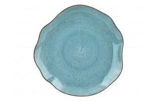 Talerz płytki 28cm Stone Age Blue