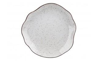 Talerz płytki 28cm Stone Age Cream