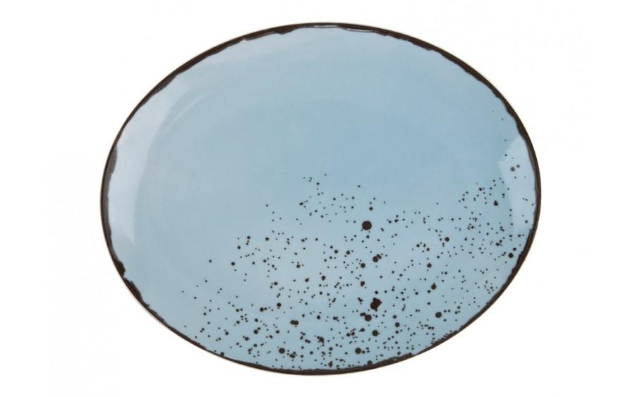 Talerz owalny płytki 29x23cm Pepper Blue