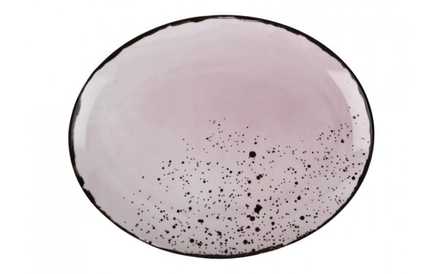 Talerz owalny płytki 29x23cm Pepper Pink