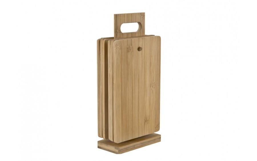 Deska do krojenia bambusowa 6szt.