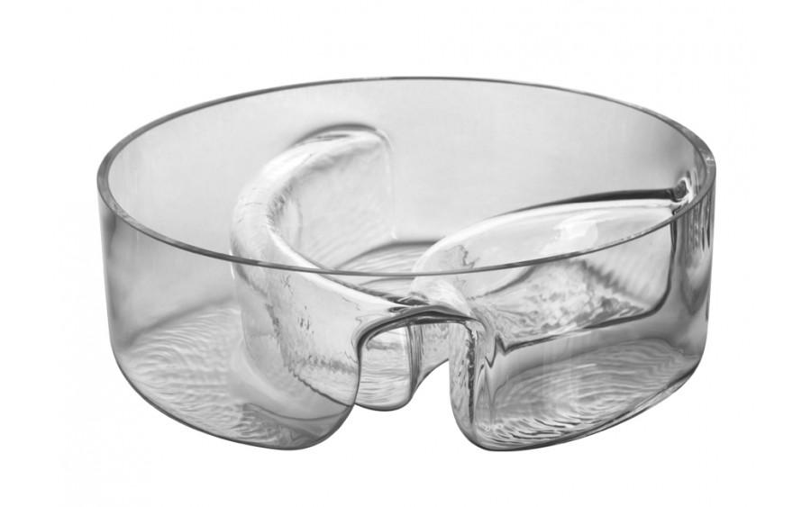 Salaterka dzielona szklana 23cm