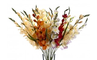 Mieczyk kwiat sztuczny 80cm