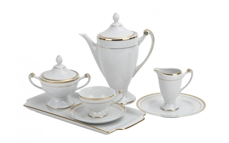 Serwis do kawy 12/40 Empire 773 Królewskie Złoto