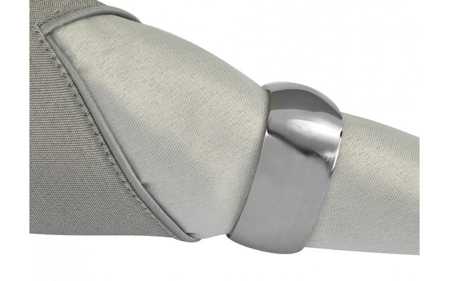 Obrączka na serwetę Trójkąt silver