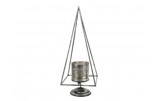 Świecznik metalowy lampion 100cm