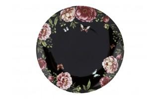 Talerz płytki 28,5cm Garden Black