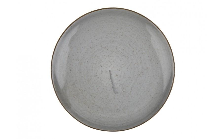 Talerz deserowy 20,5cm Boss Grey