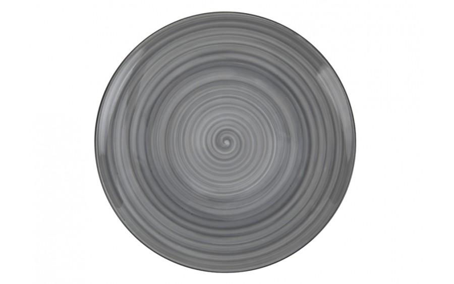 Talerz deserowy 20cm Joy Grey