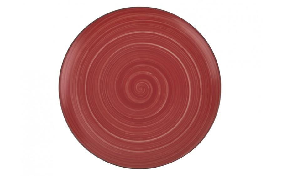 Talerz deserowy 20cm Joy Red