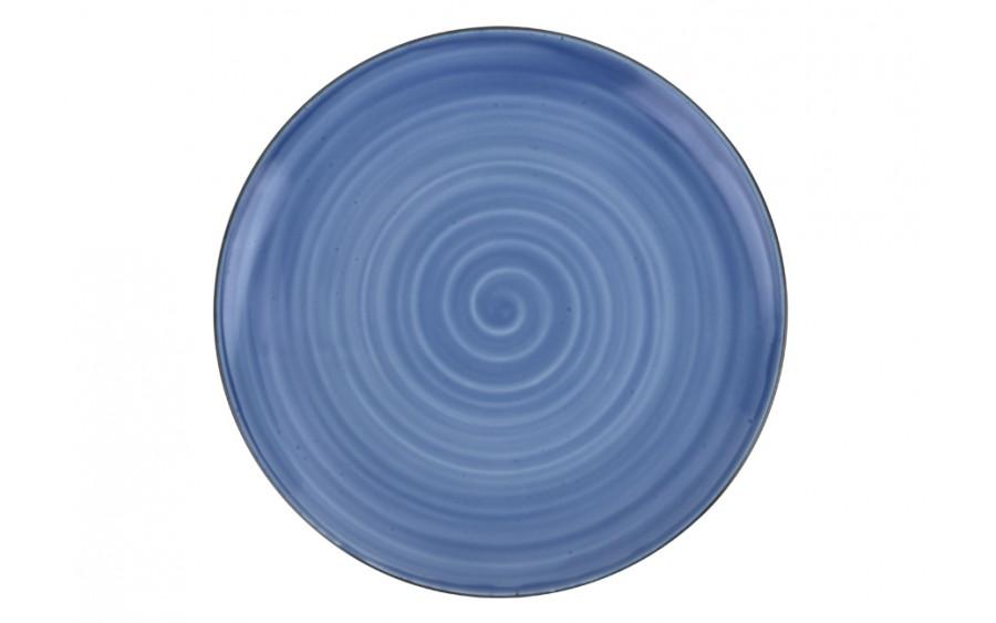 Talerz deserowy 20cm Joy Blue
