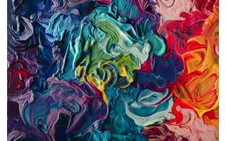 Obraz szklany 120x80 Power of colours