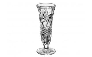 Wazon kryształowy 17,5cm Bohemia