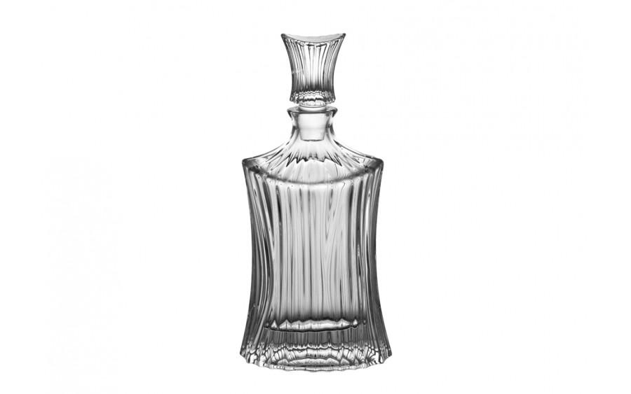 Karafka kryształowa 0,75L owalna Bohemia