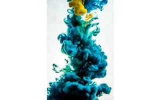 Obraz szklany 80x120 Blue Smoke