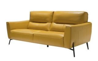 Sofa Parma FK-3P2C skóra żółta (286786)