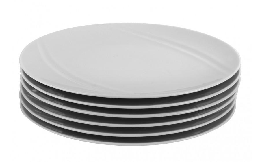 Komplet 6 talerzy deserowych 21cm Karat