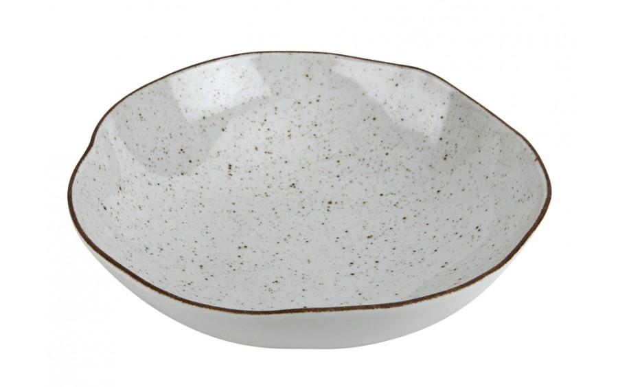 Salaterka 28,5cm Stone Age Cream