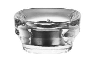 Szklany świecznik 6,5x6,5 cm
