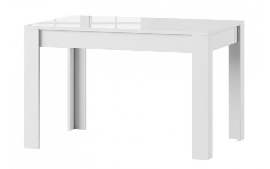 Stół Syrius biały połysk 120x80