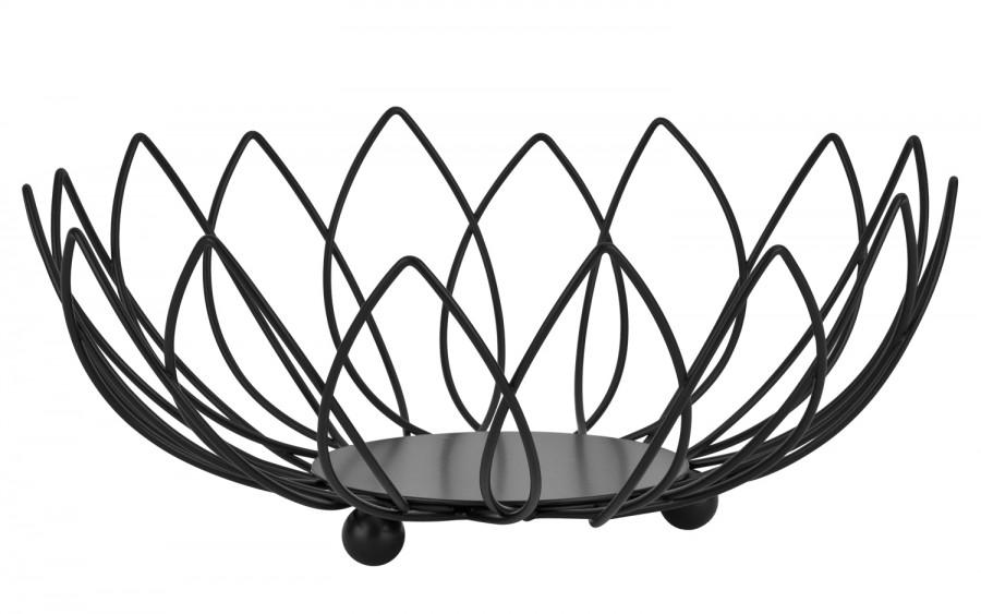 Koszyk na owoce 04-87 BL czarny