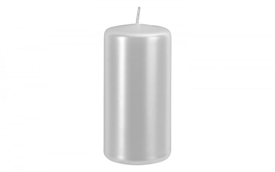 Świeca klubowa biała perła śr. 5,8cm