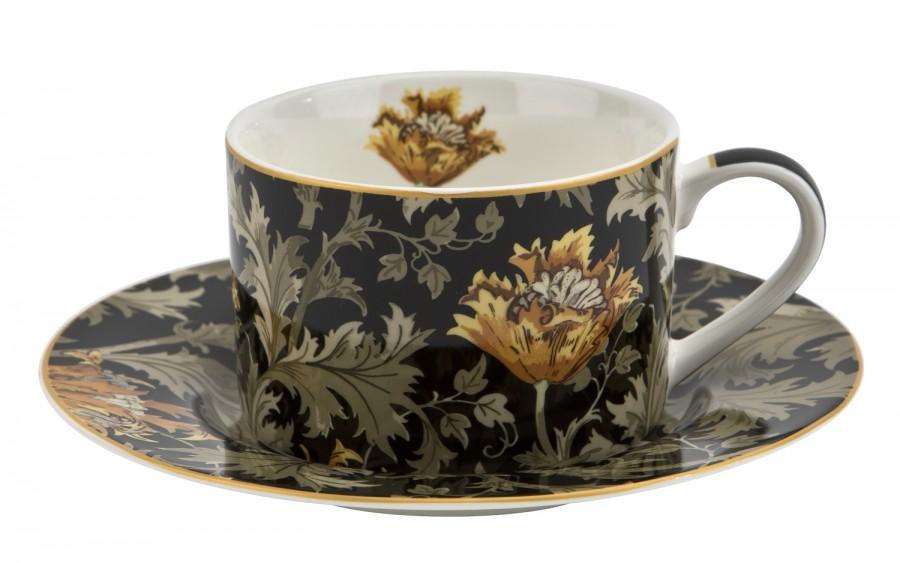 Filiżanka 250ml ze spodkiem Chrysanthemum