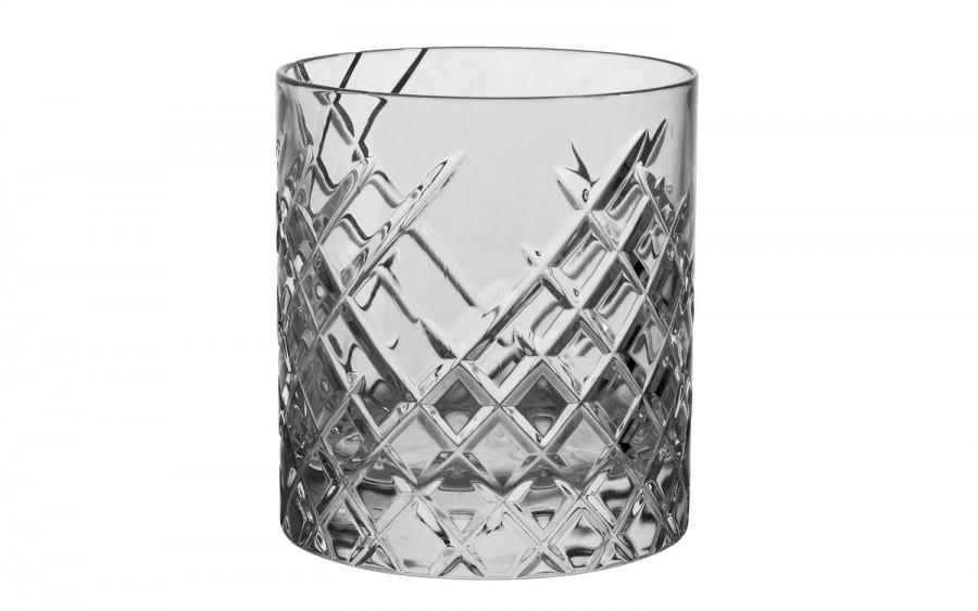 Szklanka Bohemia Whisky Wielokąt 9,5 cm.