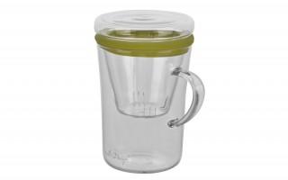 Szklanka z zaparzaczem 300 ml.
