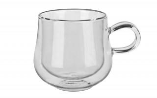 2x szklanka z podwójną ścianką 250 ml.