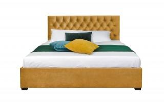 Łóżko tapicerowane 180x200cm Laura