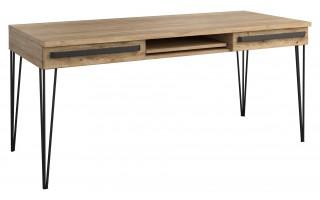 Biurko duże z półką Dąb