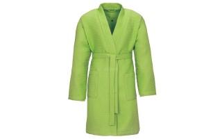 Szlafrok Pique kolor zielony S 530