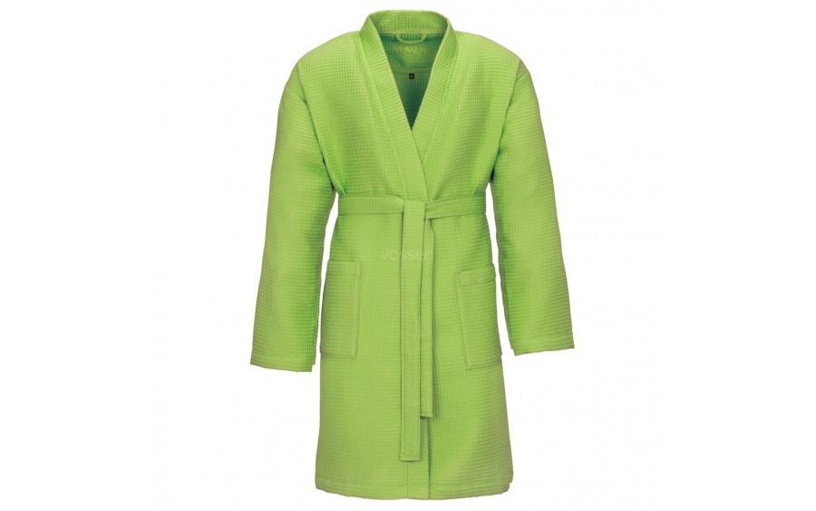 Szlafrok Pique kolor zielony M 530