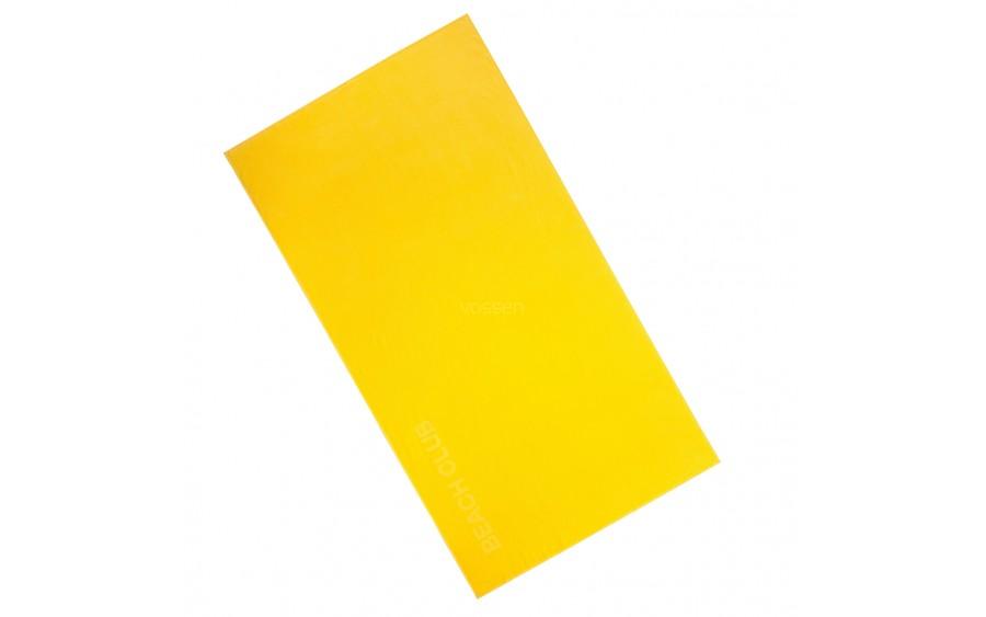 Ręcznik plażowy żółty 100x180 beach