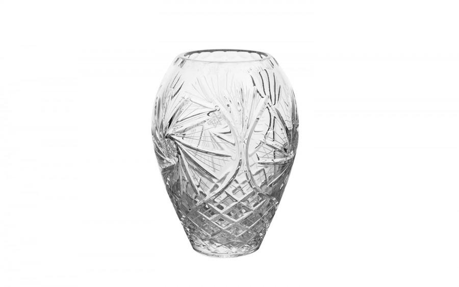 Wazon kryształowy 18cm