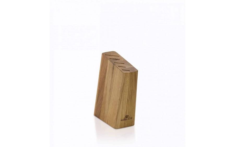 Komplet noży w bloku 5 sztuk Natur