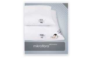 Poduszka  antyalergiczna MIKROFIBRA pikowana