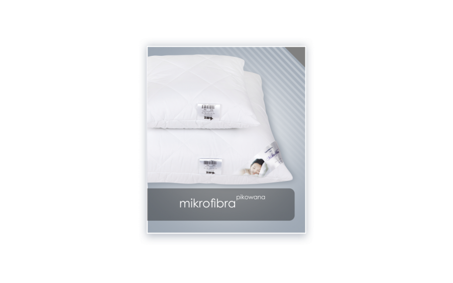 Poduszka antyalergiczna 40x40 cm MIKROFIBRA pikowana