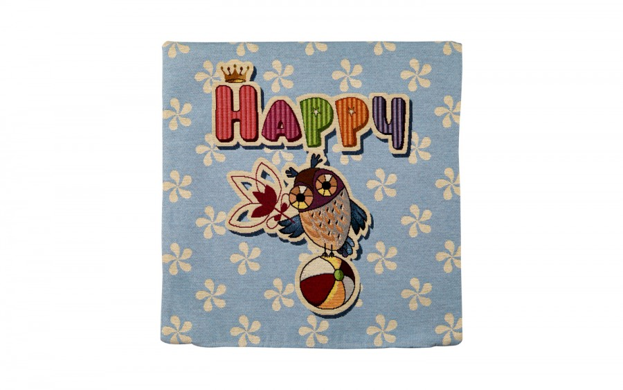 Poszewka 45/45 Sowa-Happy