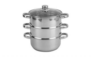 Zestaw do gotowania na parze 4 elementy 2,5 l.