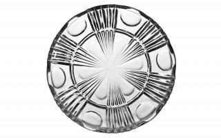 Talerz kryształowy płytki Zawiercie